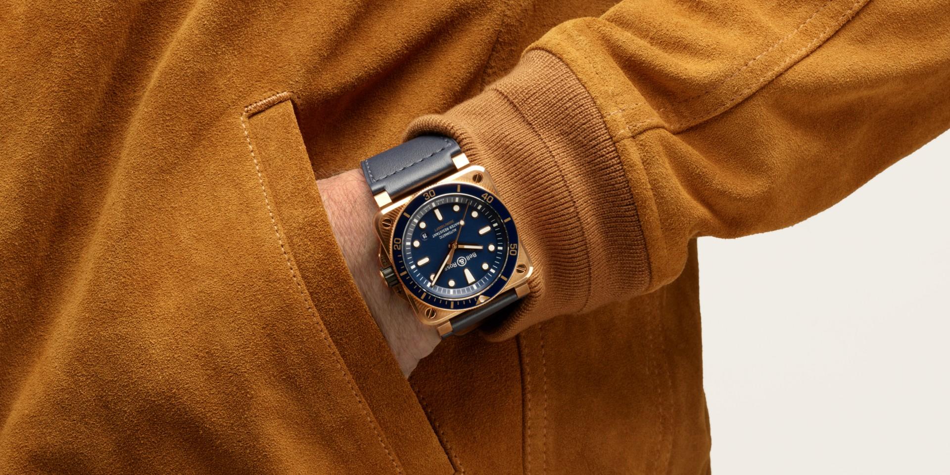 【2020線上錶展】Bell & Ross發表獨一無二的 BR03-92 Diver Blue Bronze海軍藍色青銅版潛水腕錶