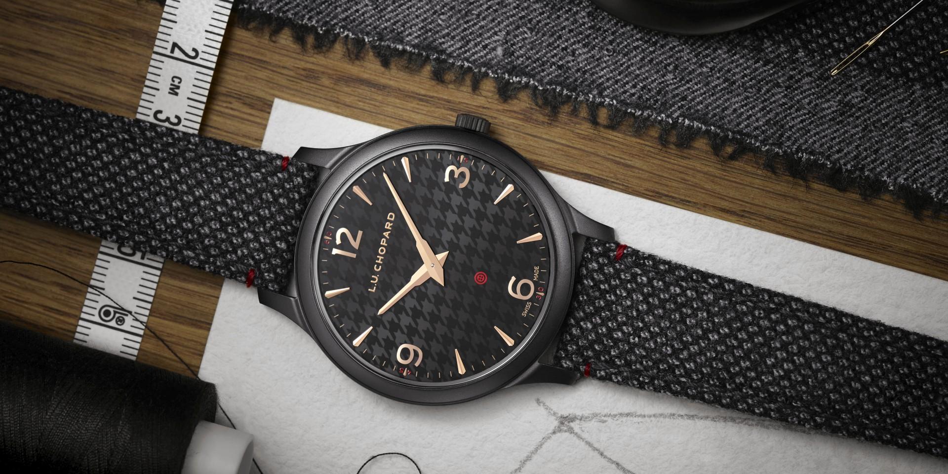 千鳥格紋設計盡顯紳士風範:蕭邦L.U.C XP Il Sarto Kiton腕錶