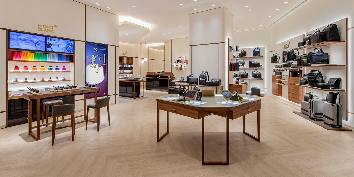 體驗與客製新亮點:Montblanc台北101旗艦店改裝開幕