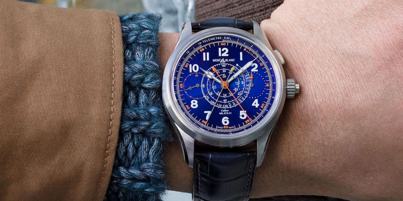 【每週一錶】古色古香配新裝:萬寶龍1858系列雙秒追針計時碼錶限量款100
