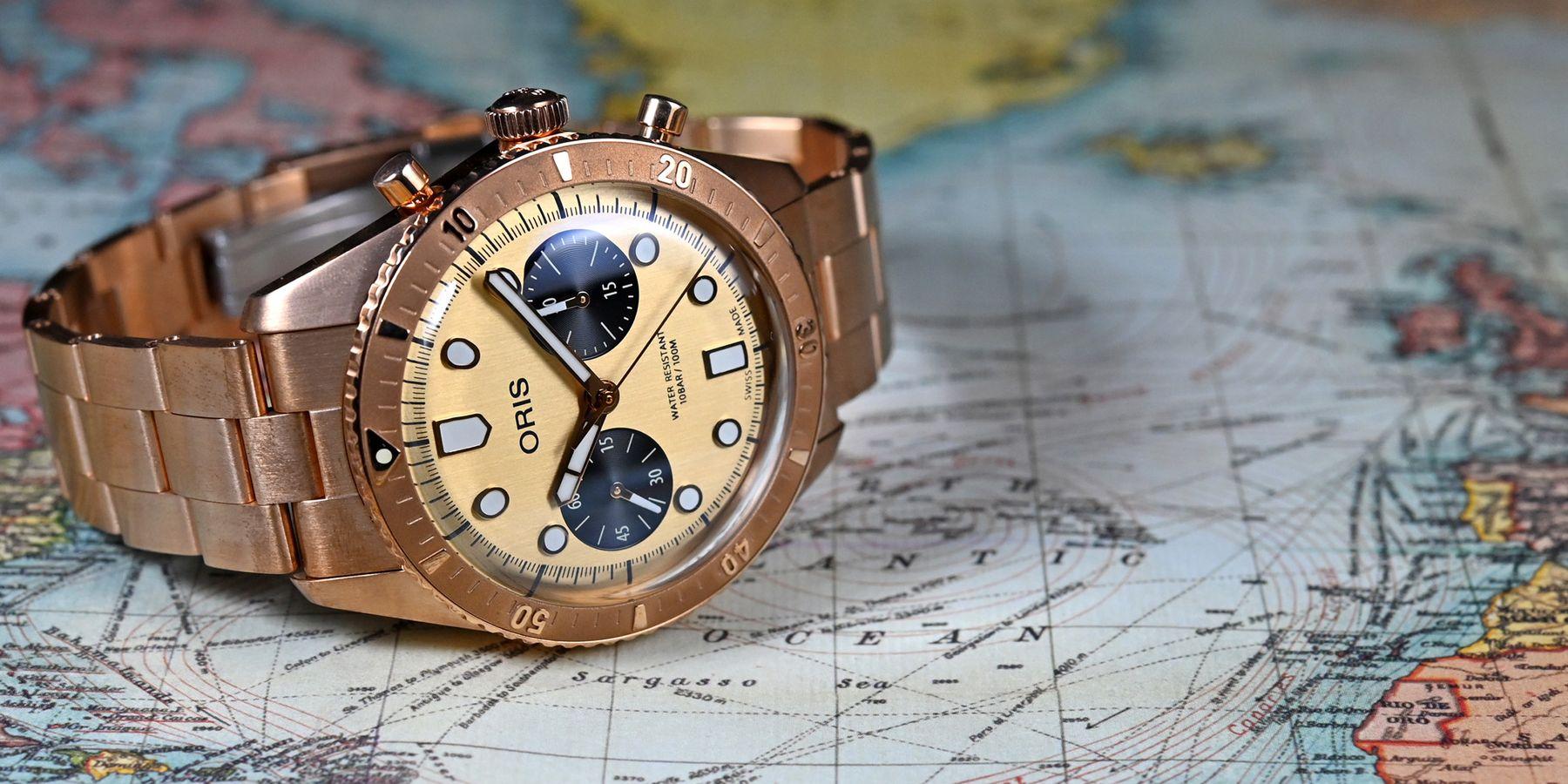 【每週一錶】青銅材質新玩法:Oris Hölstein 2020限量腕錶
