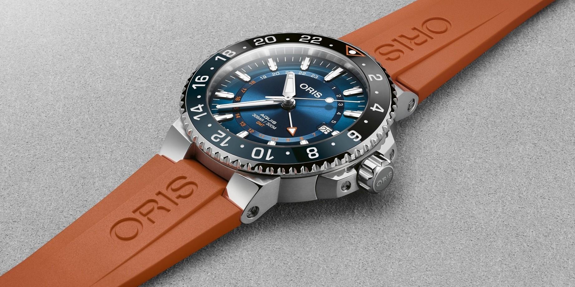 ORIS愛護海洋,義助復育珊湖礁,推出 Aquis Carysfort Reef 卡里斯福特礁限量腕錶
