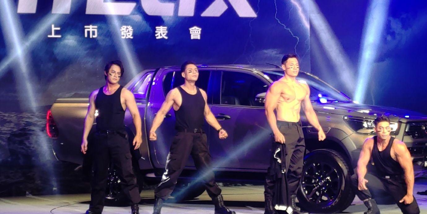 越野悍將Toyota Hilux皮卡小改款 預售一個月熱賣逾300台