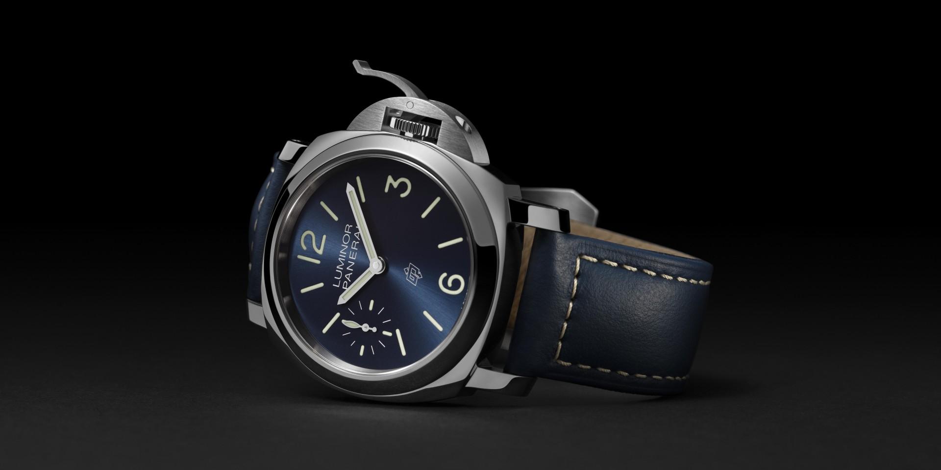 【2020線上錶展】探索藍色海洋:PANERAI Luminor Blu Mare – 44毫米腕錶(PAM01085)
