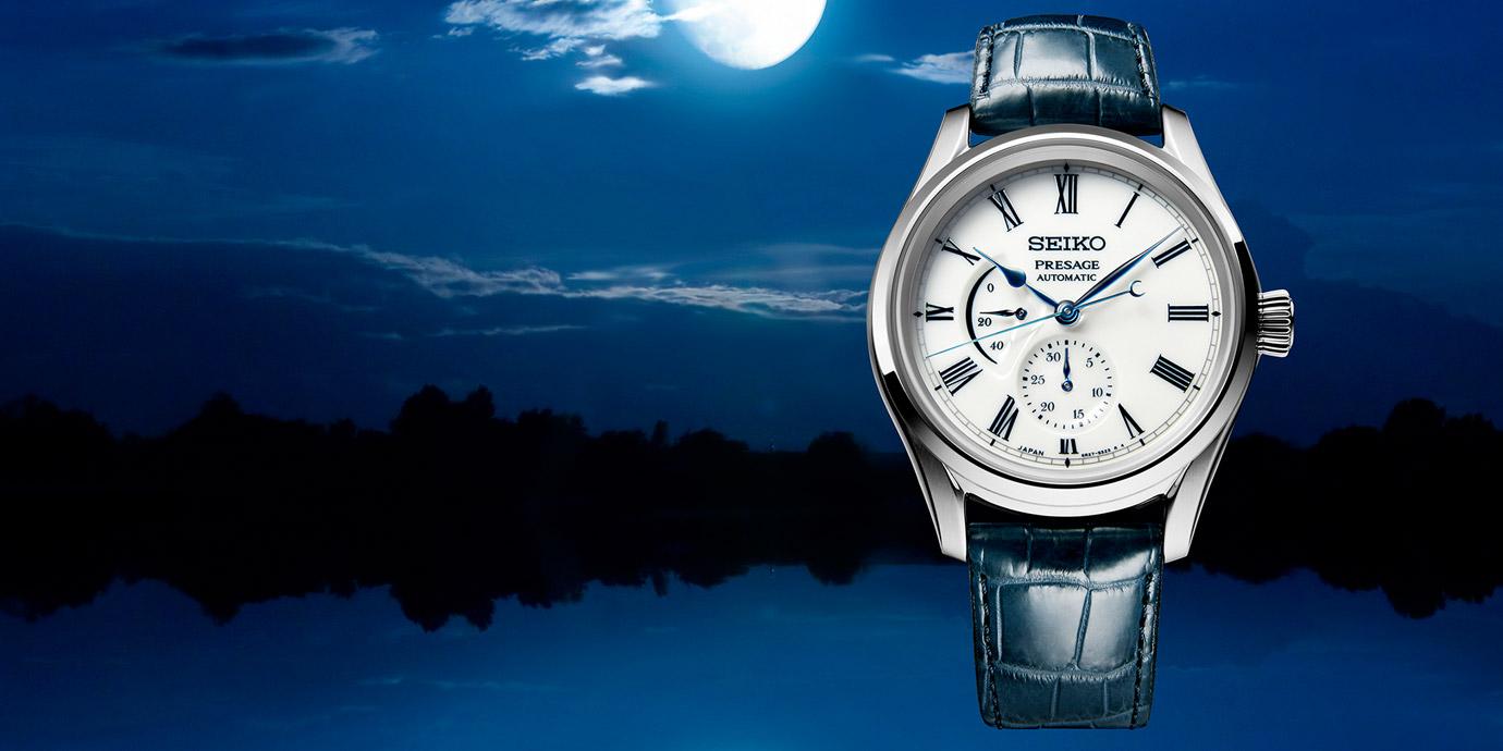 日式百年工藝呈現「水月」之景:Seiko Presage有田燒限量腕錶