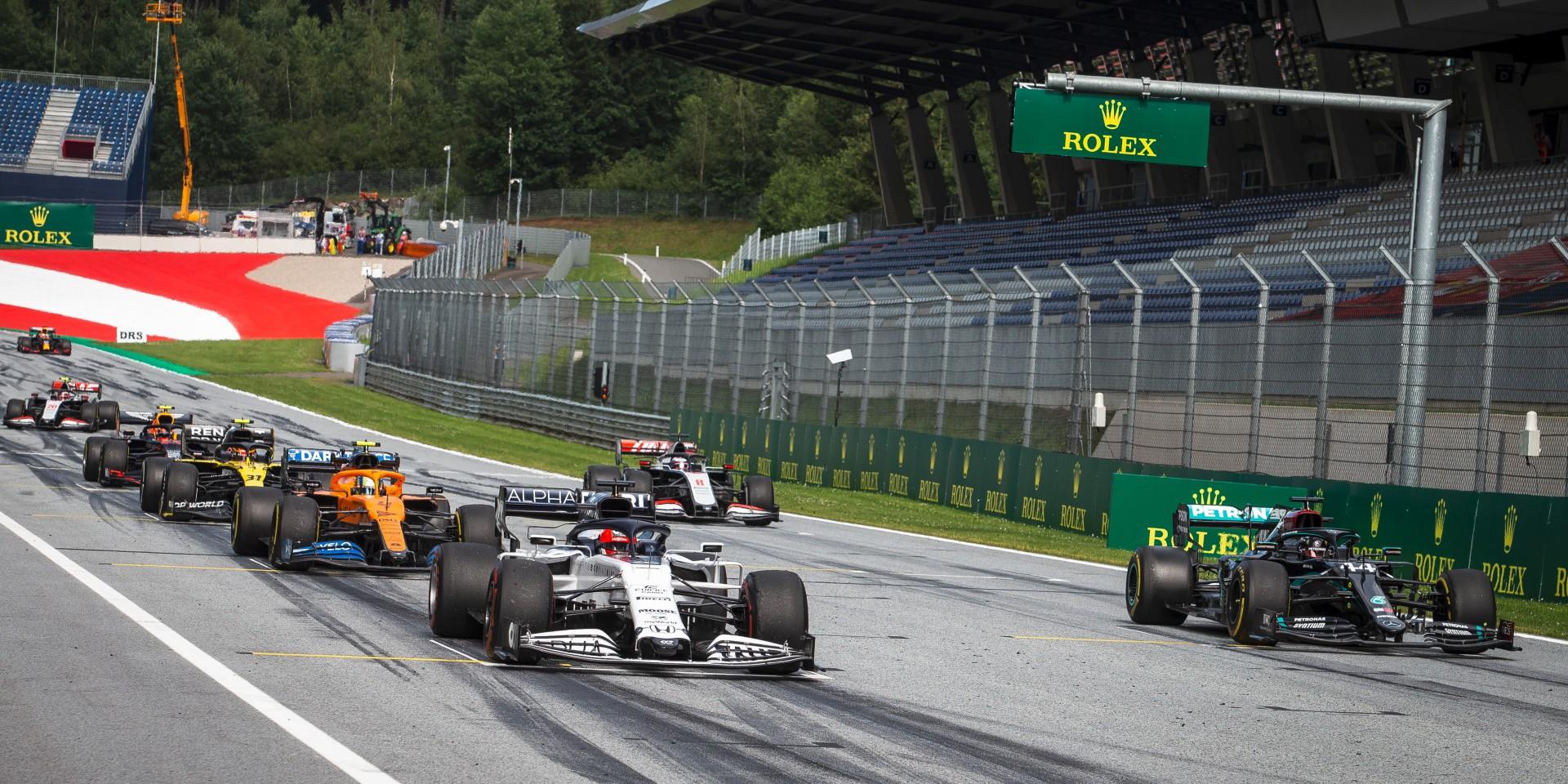 勞力士奧地利大獎賽擂響2020年一級方程式錦標賽(FIA Formula One World Championship)首戰序曲