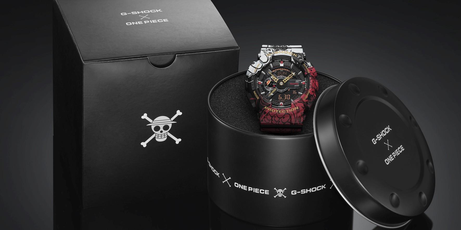 CASIO 推出 G-SHOCK「航海王ONE PIECE」聯名錶款