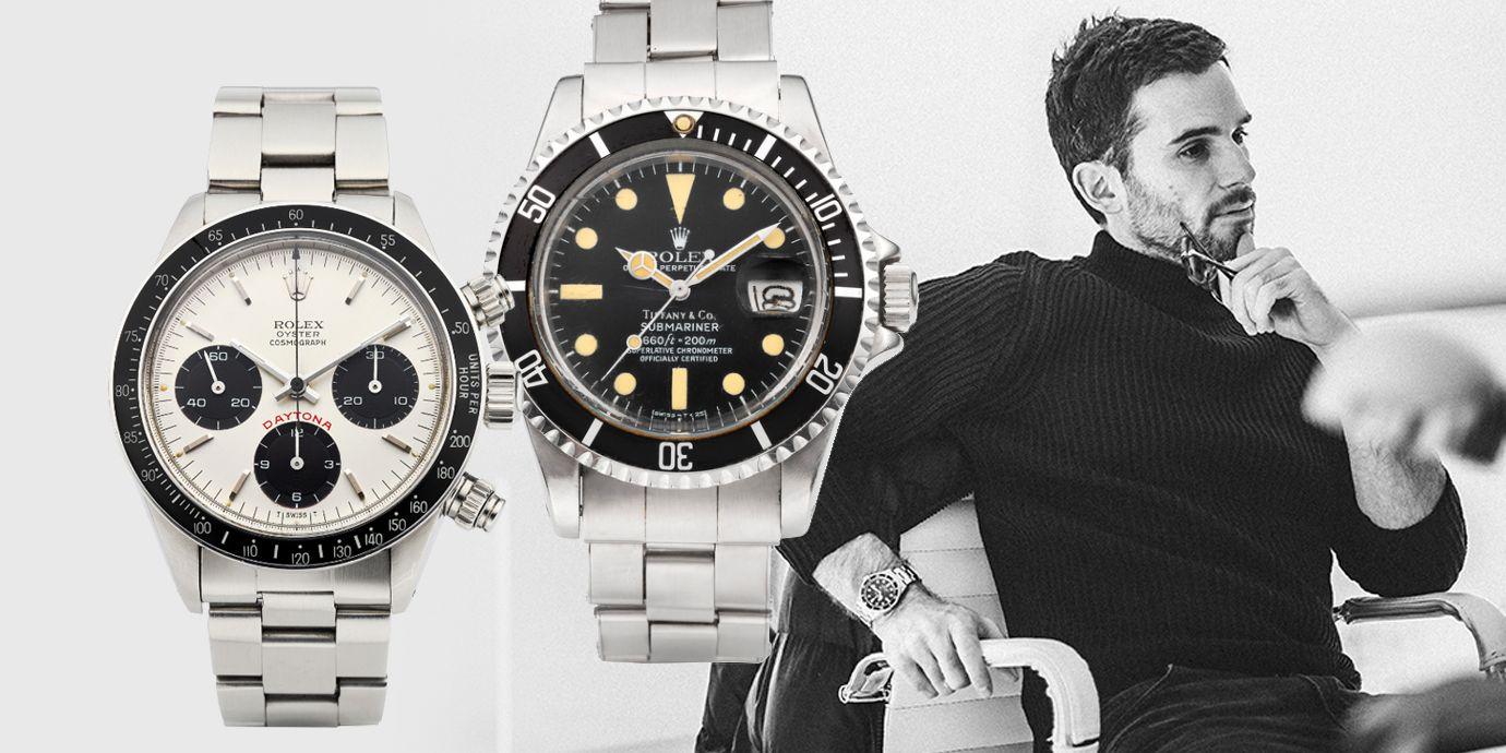 酷玩樂團貝斯手Guy Berryman分享:精選佳士得線上拍賣Rolex