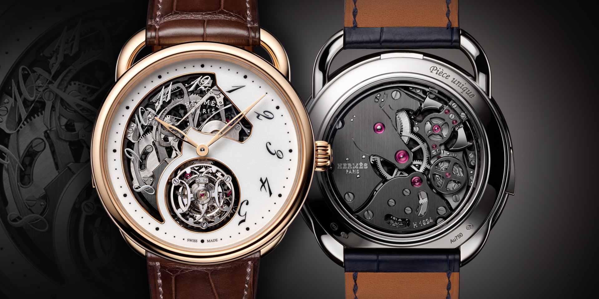 愛馬仕CRAFTING TIME 超凡腕錶展於9 月4 日至13 日在台北 BELLAVITA 旗艦店舉行