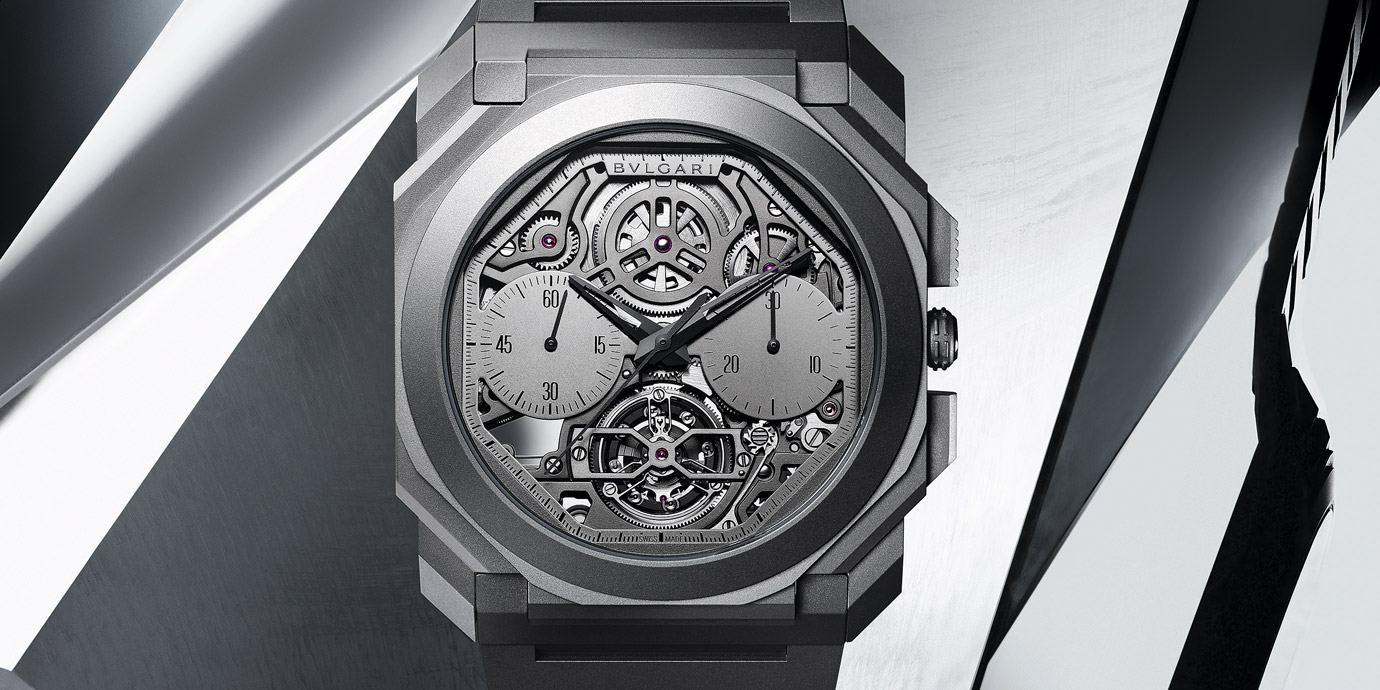 【2020線上錶展】唯有自己才能超越的纖薄:BVLGARI Octo Finissimo鏤空陀飛輪自動計時腕錶