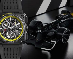 【2020線上錶展】融入雷諾車隊經典元素:Bell & Ross R.S.系列新作