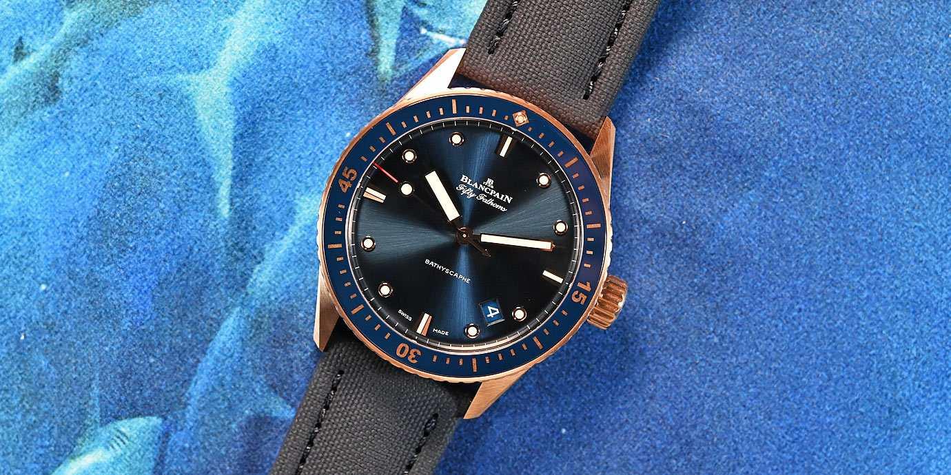 【每週一錶】獨特又尊貴:Blancpain Bathyscaphe Sedna金潛水錶