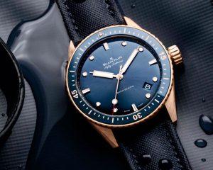 【2020線上錶展】首次結合Sedna金:寶珀Fifty Fathoms Bathyscaphe腕錶