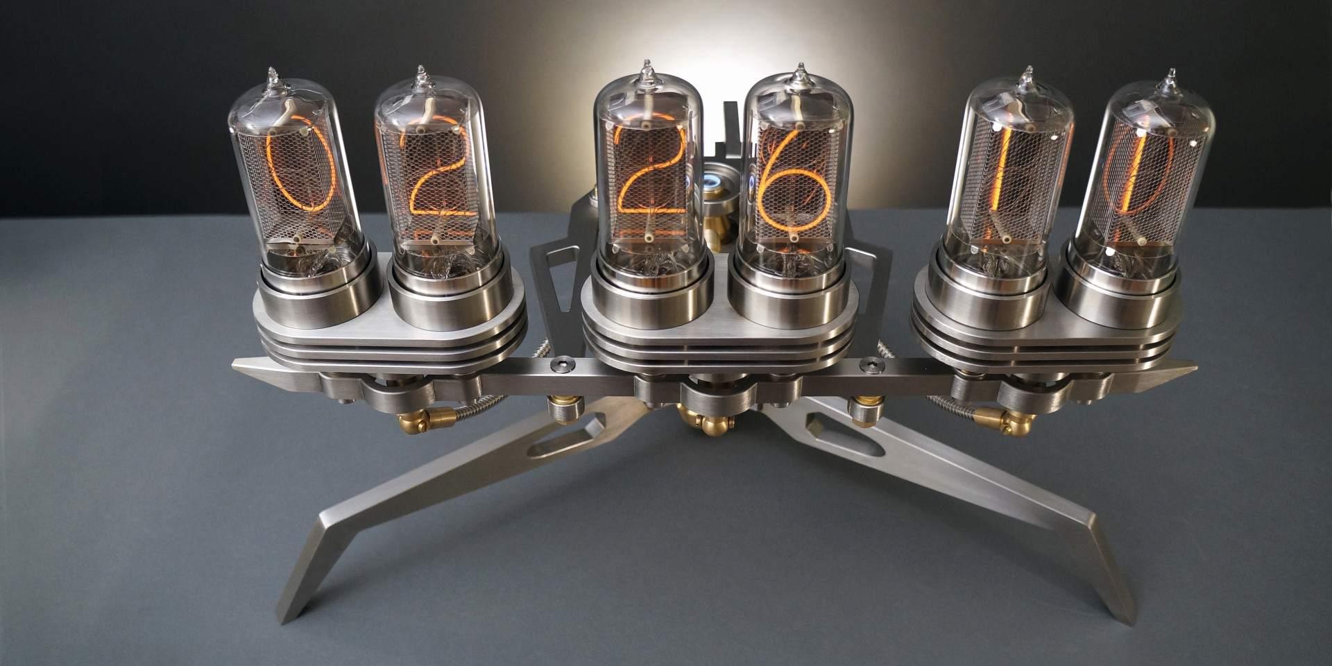 Frank Buchwald三度出擊,Nixie Machine III 真空管時鐘三代目將於M.A.D.Gallery獨家展出