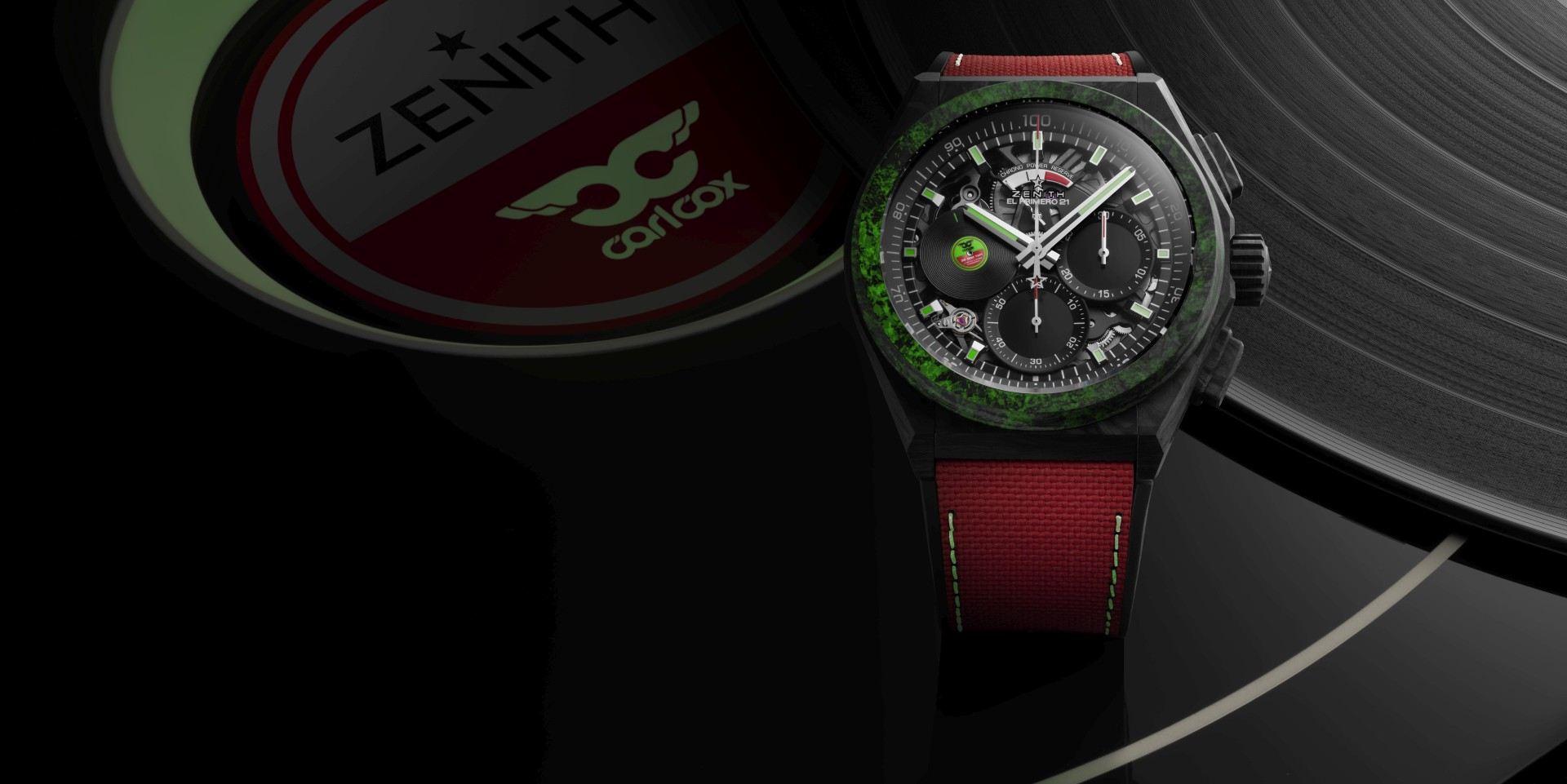 音炫神迷的深度之作:真力時Defy El Primero 21 Carl Cox限量版腕錶