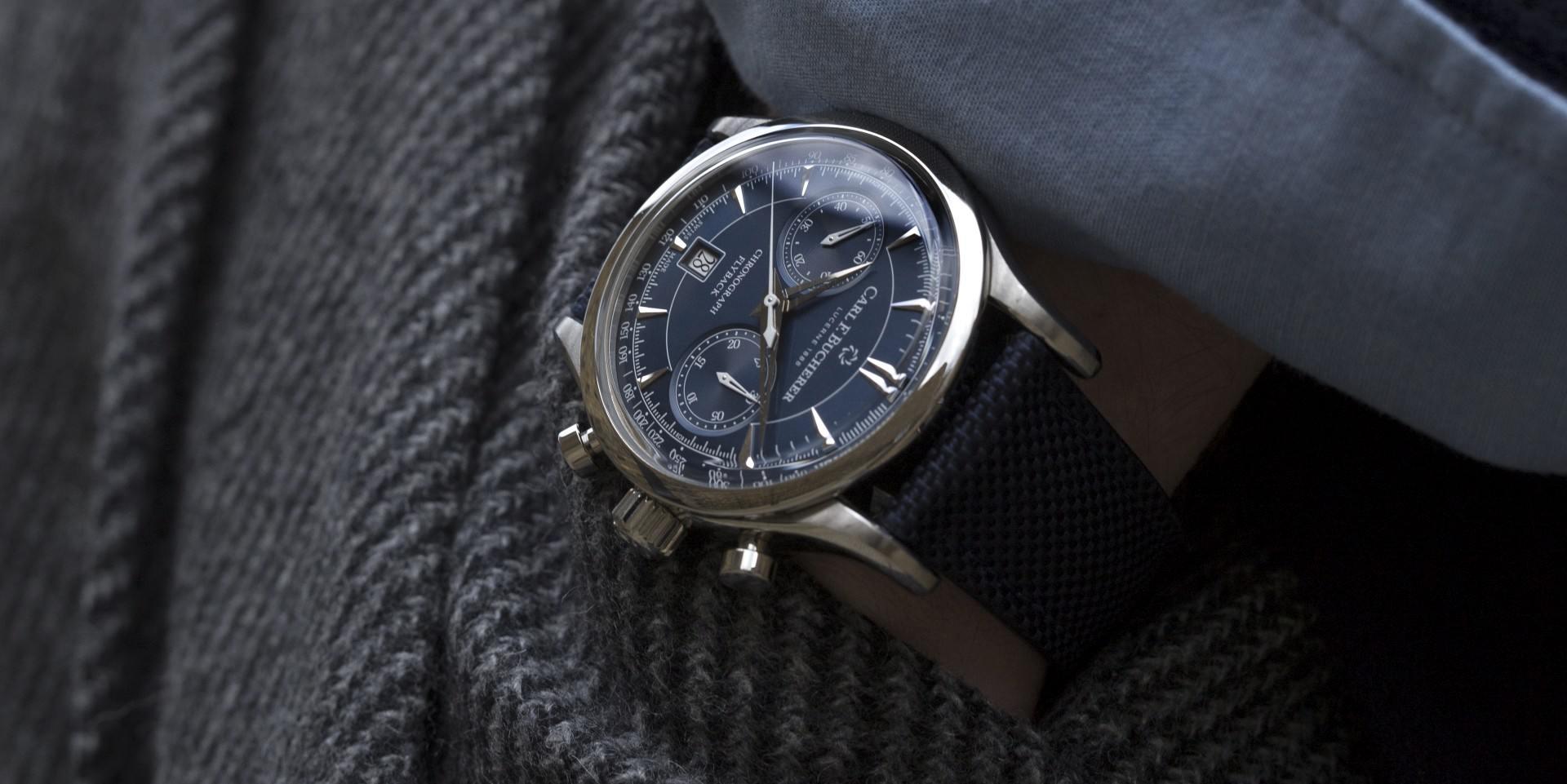 蔚藍風尚新主張:寶齊萊馬利龍飛返計時碼錶推出兩款藍色面盤新作