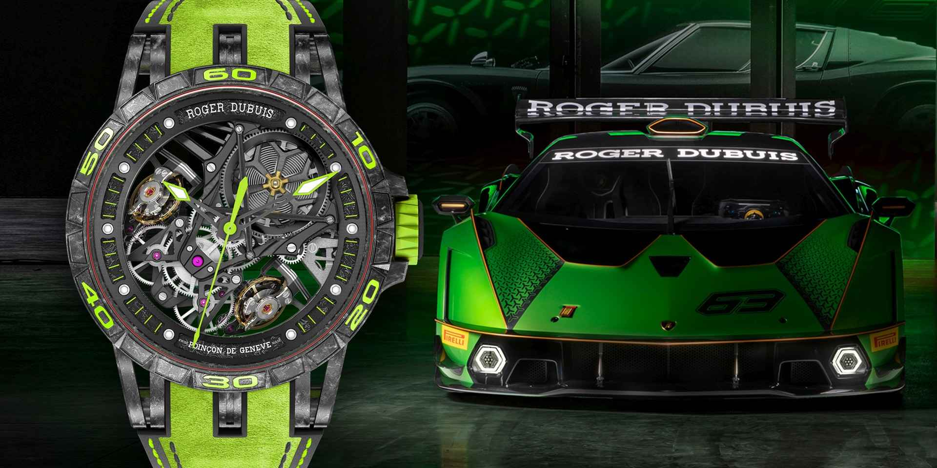 Roger Dubuis羅杰杜彼推出Excalibur Essenza SCV12超級訂製腕錶服務