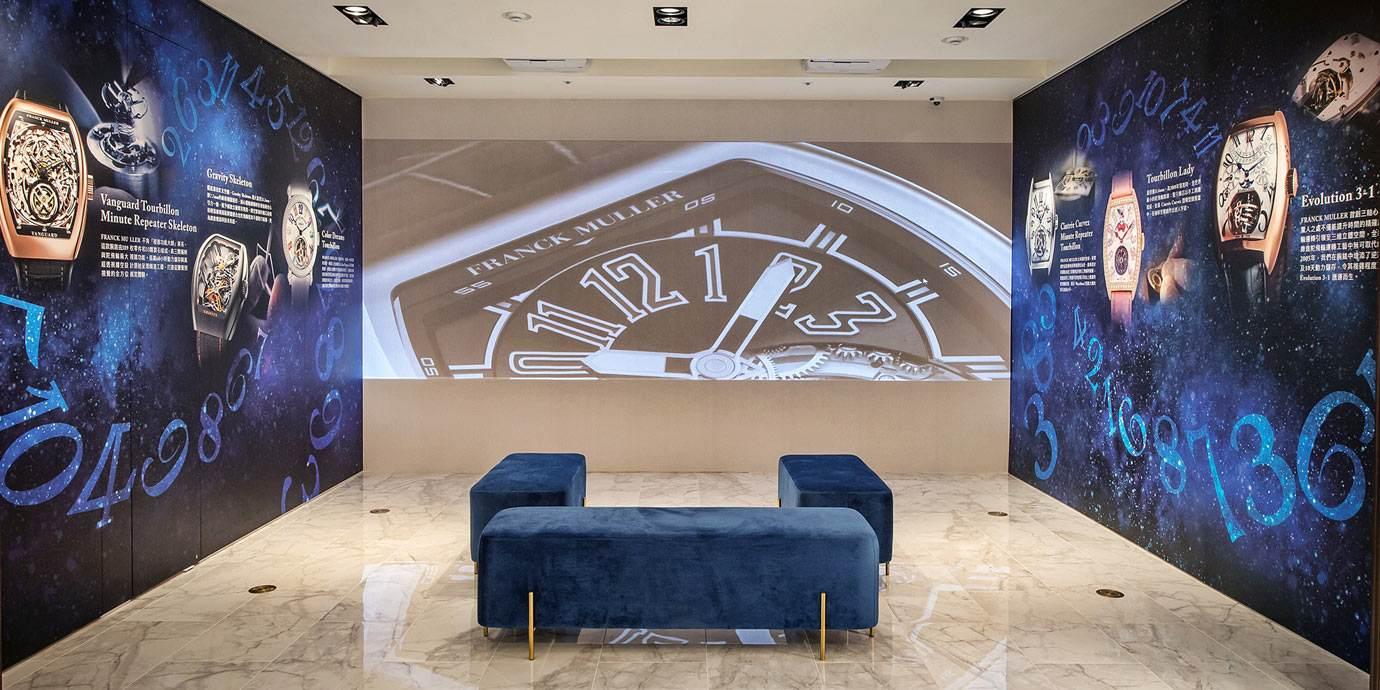 盡情鑑賞Franck Muller複雜錶款:高登鐘錶台北老爺形象店舉辦「複雜功能大師腕錶特展」