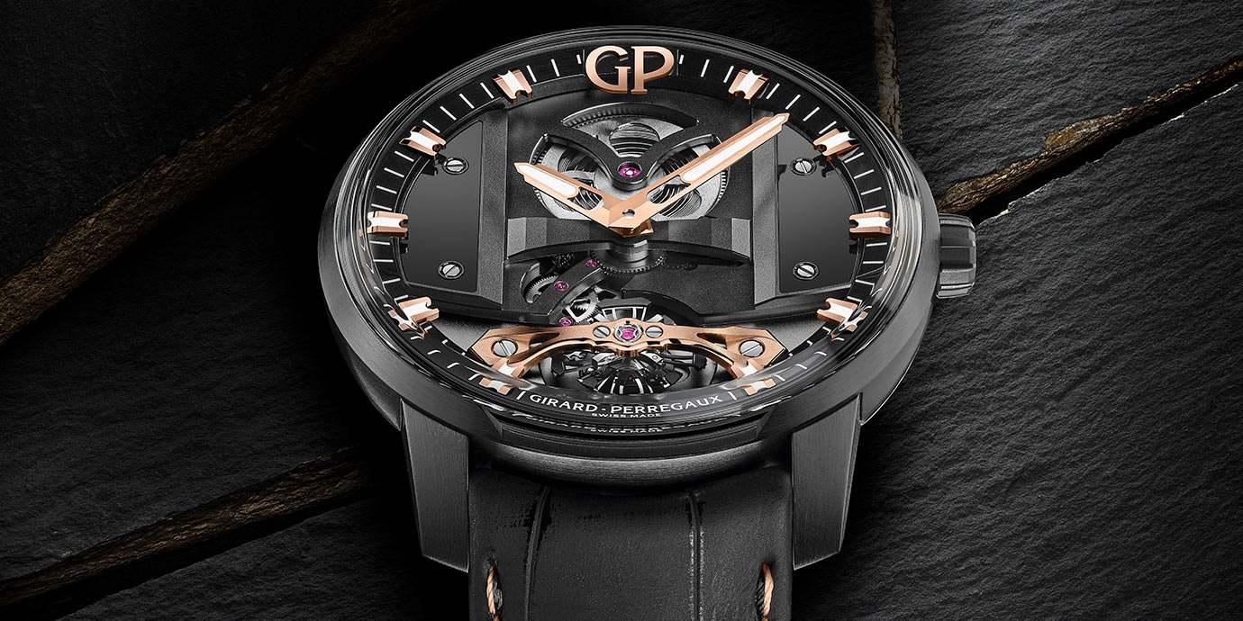 【2020線上錶展】科技感全面提升:Girard-Perregaux Free Bridge腕錶