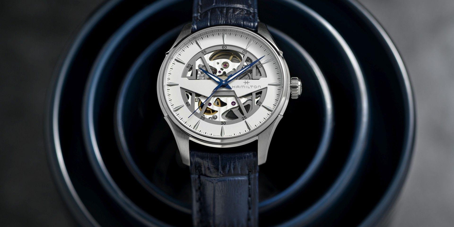 內在乾坤一覽無遺:Hamilton Jazzmaster Skeleton鏤空系列腕錶