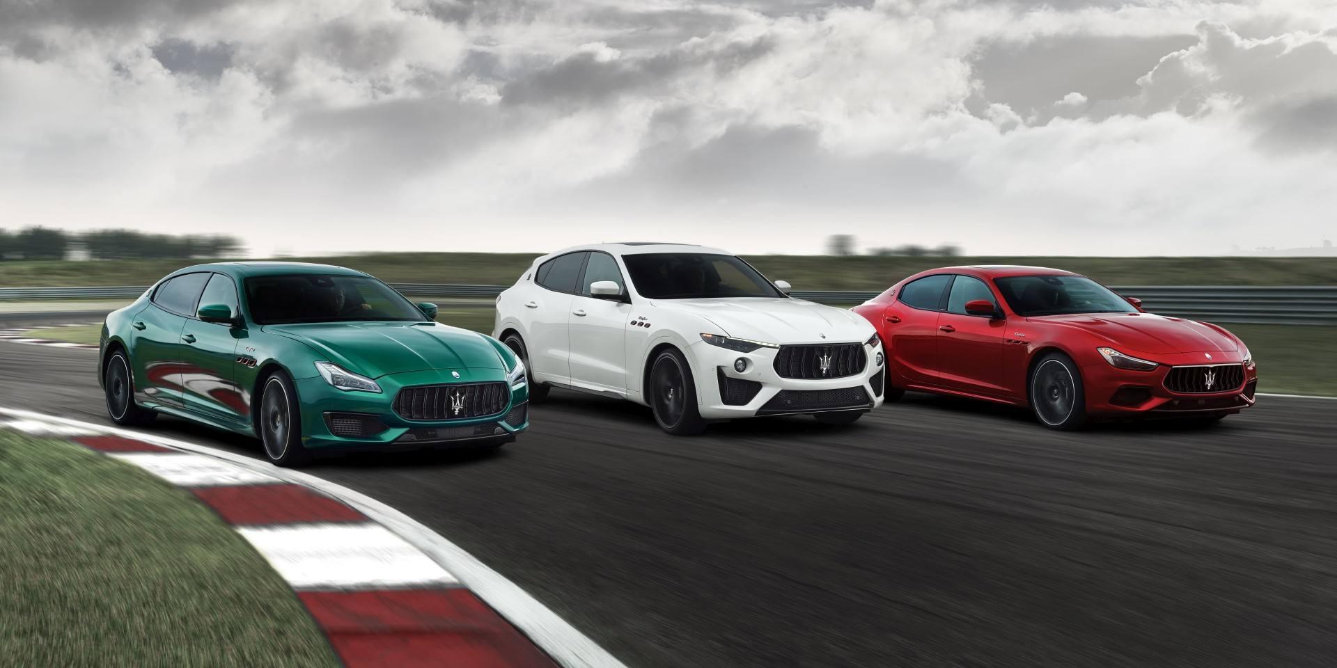 前所未見的跑格魅力;Maserati Trofeo高性能車系強勢來襲