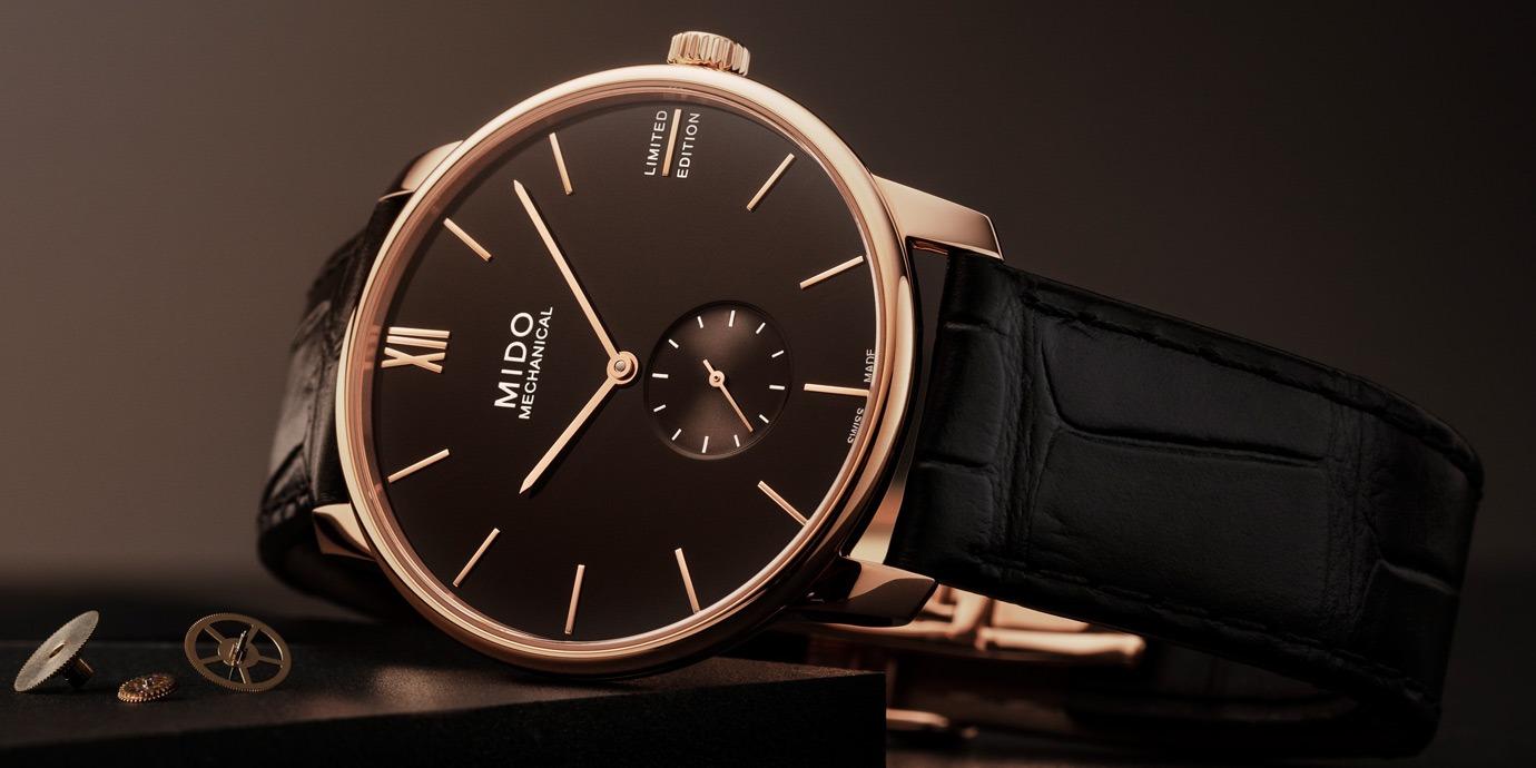 典雅纖薄:Mido Baroncelli永恆系列手上鍊小秒針限量錶