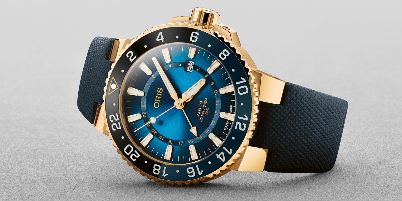 黃金打造潛水錶就是狂:Oris卡里斯福特礁限量錶