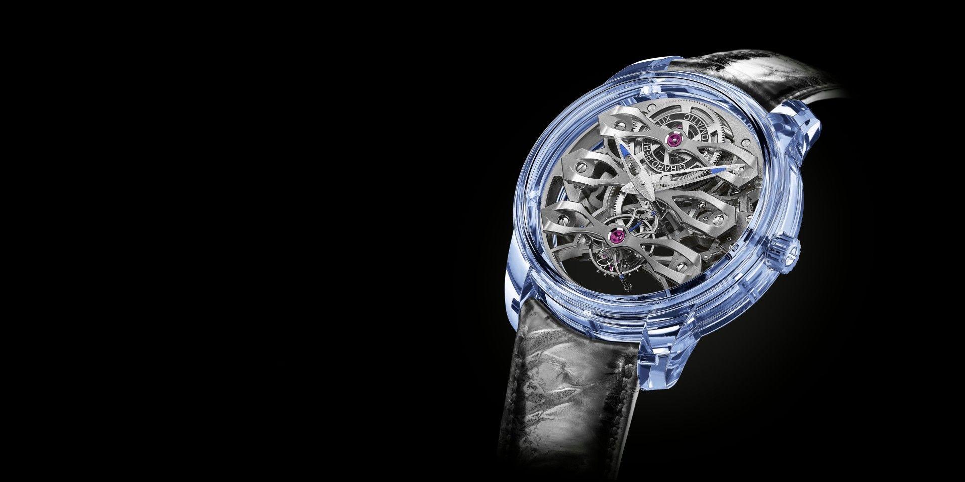 【2020線上錶展】玲瓏剔透、光芒耀目:芝柏 Girard-Perregaux Quasar Azure腕錶