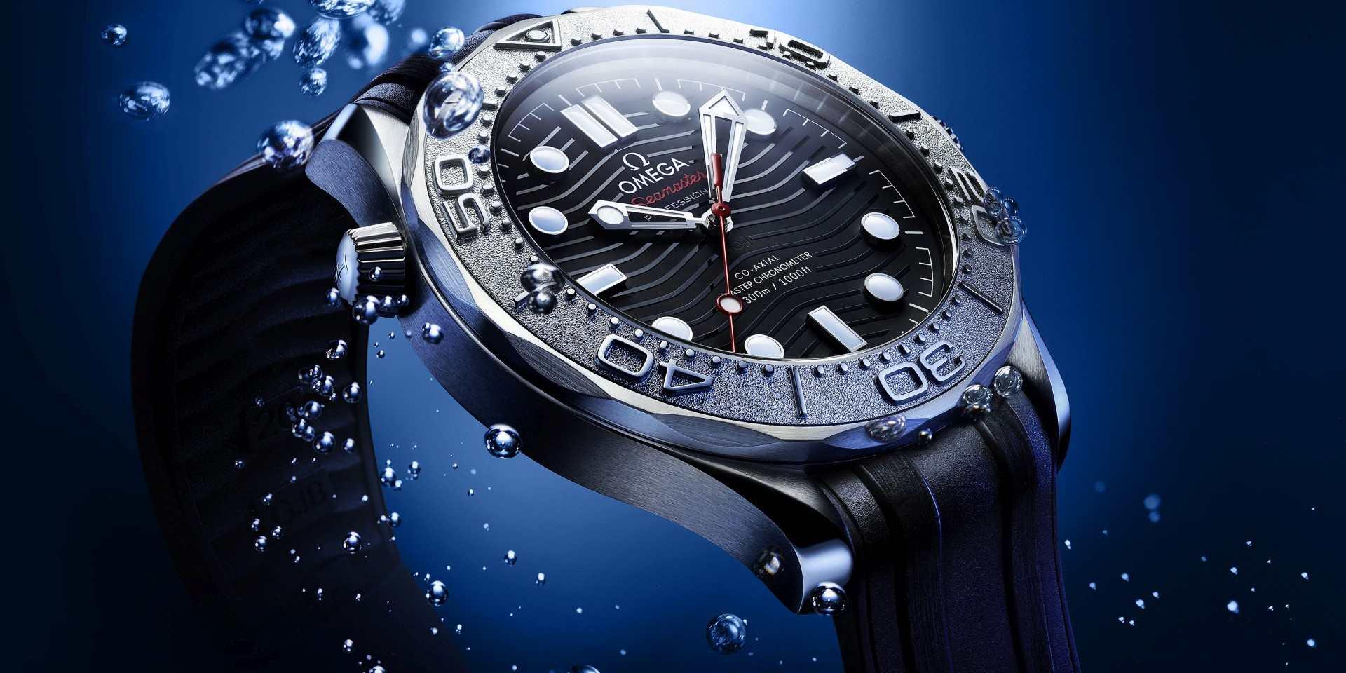歐米茄參與拯救海洋任務,推出海馬潛水300米Nekton版本腕錶