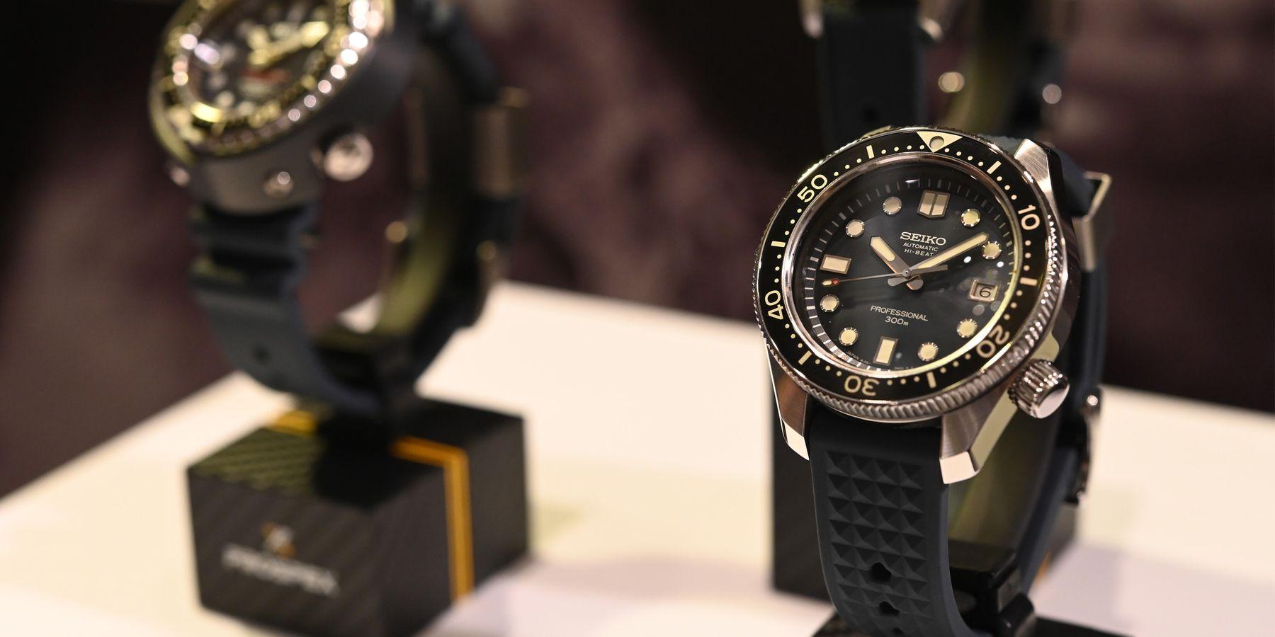 承載歷史的榮耀!Seiko Prospex潛水錶55週年