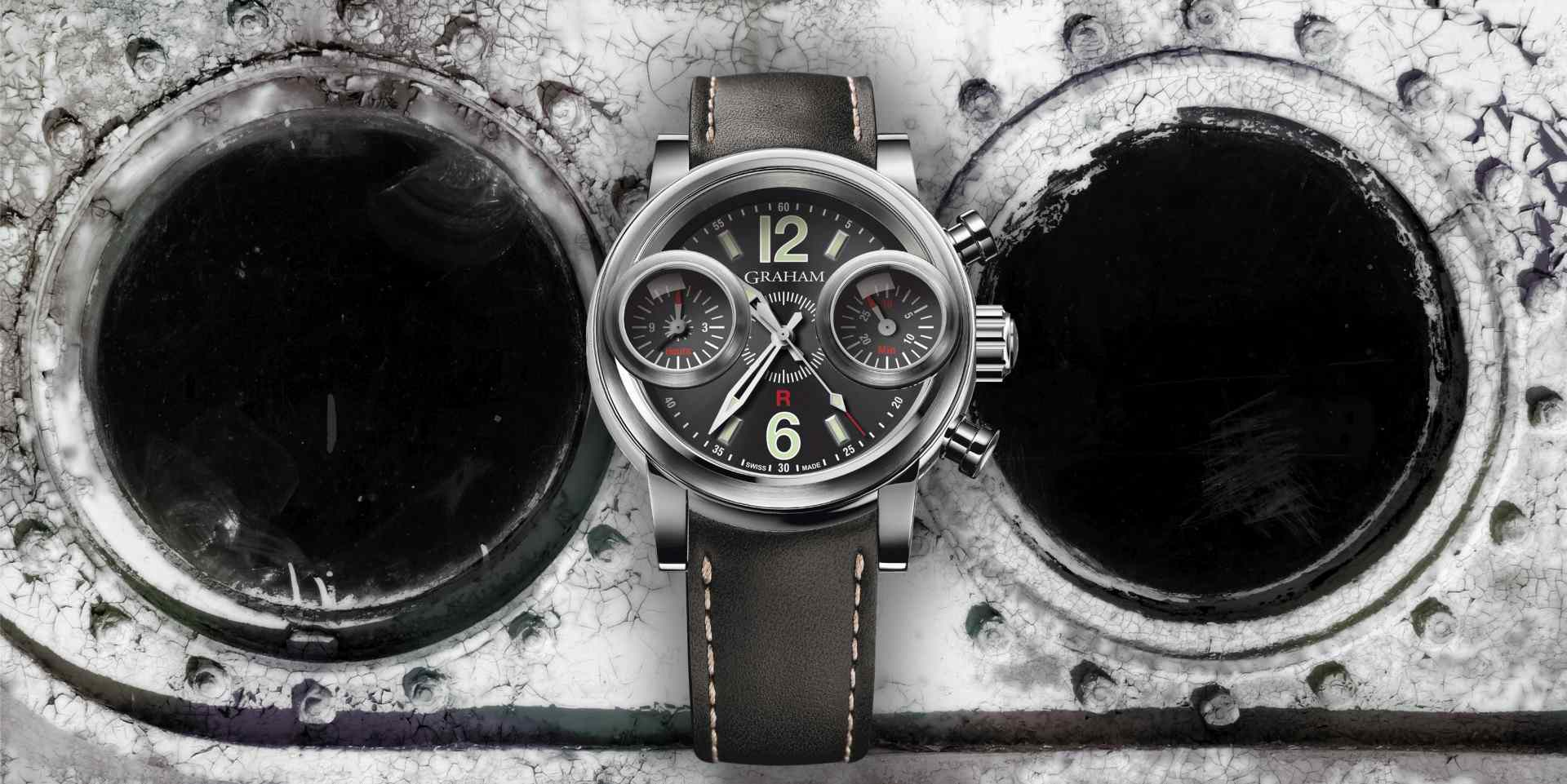 經典回歸:GRAHAM Swordfish Eye Opener劍魚復刻計時限量腕錶