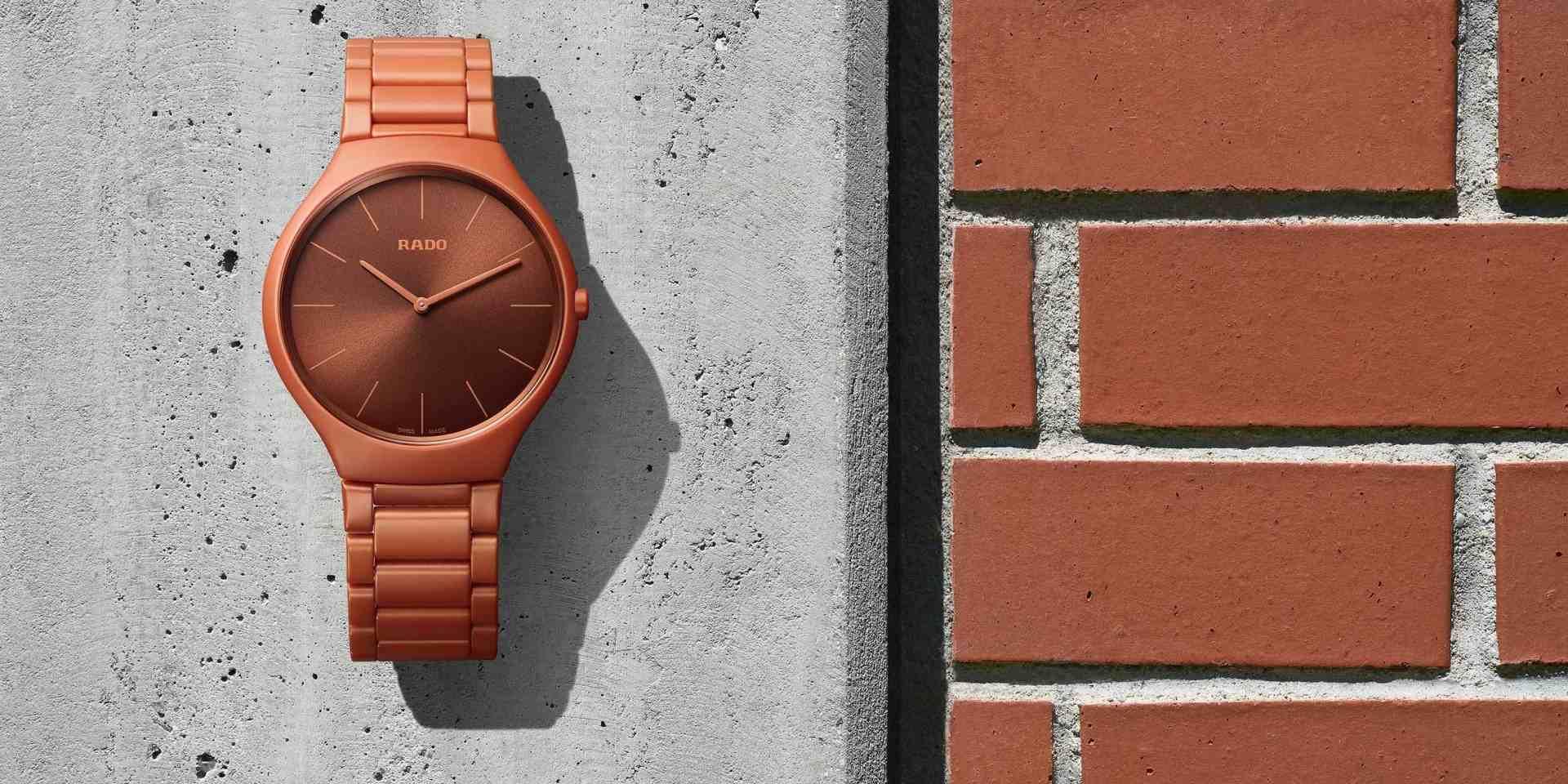 幻彩美形活出真自我:雷達True Thinline真我超薄幻彩高科技陶瓷科比意限量腕錶