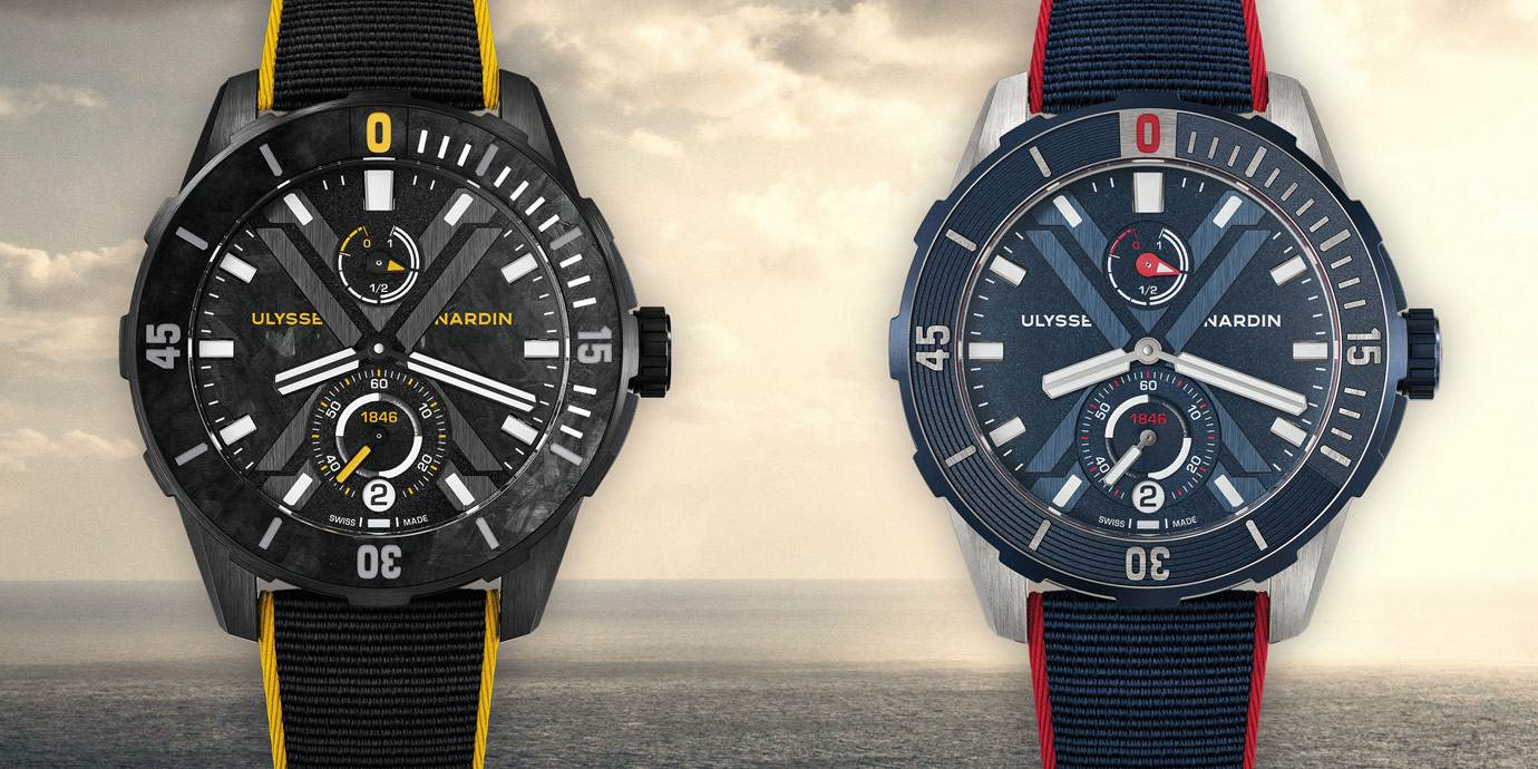 【2020線上錶展】陪伴選手挑戰極限:Ulysse Nardin潛水系列DIVER X 腕錶