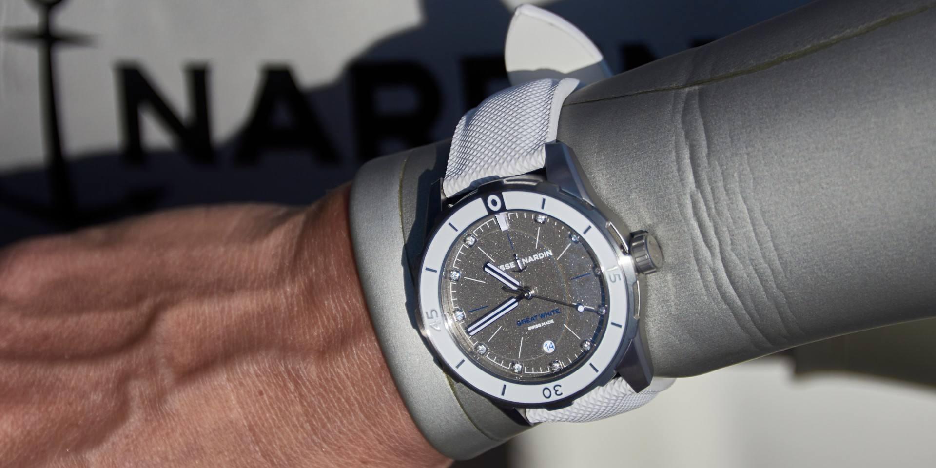 【2020線上錶展】雅典表 Lady Diver Great White 美人魚潛水錶系列大白鯊限量版
