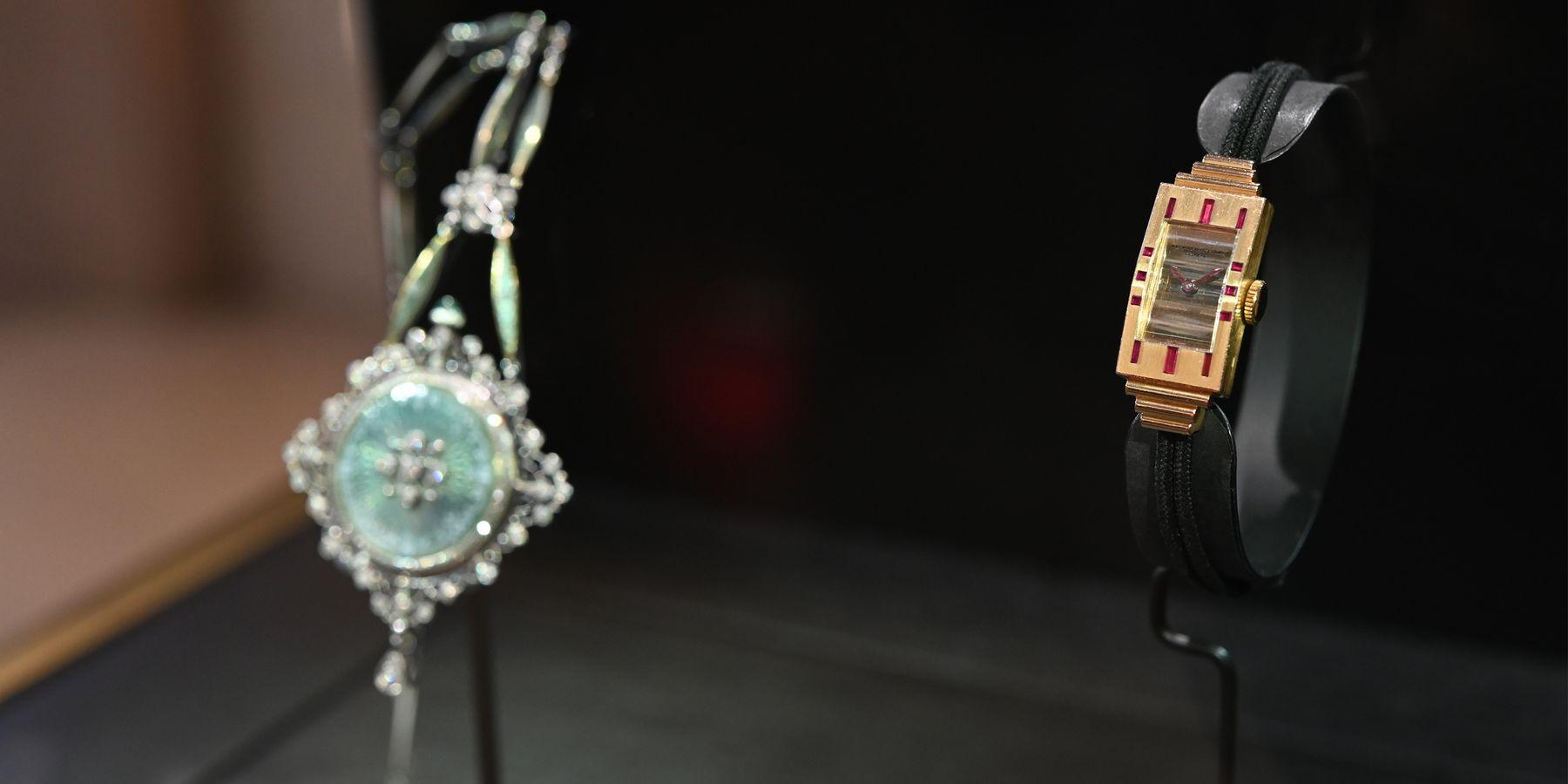 原來從前的貴婦戴這種錶?!江詩丹頓101古董錶展