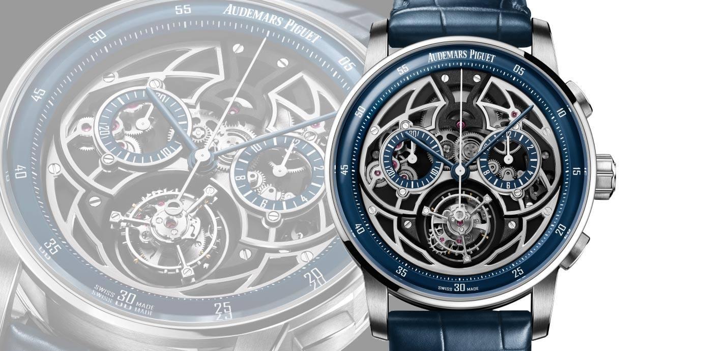 【2020線上錶展】展現卓越製錶功夫:愛彼CODE 11.59系列飛行陀飛輪自動上鍊計時碼錶