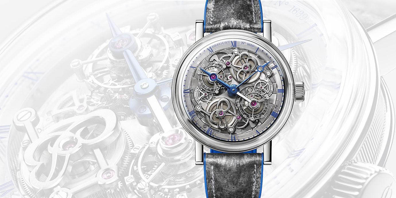【2020線上錶展】集結夢幻工藝與精湛技術:Breguet Double Tourbillon 5345