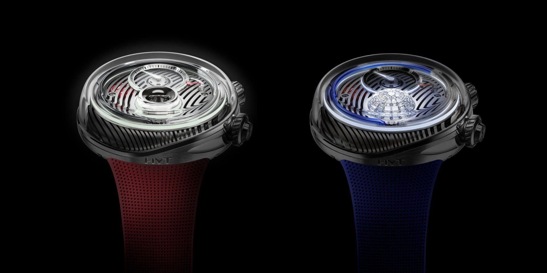 盡綻計時科技光芒:HYT FLOW腕錶自帶微型發電機和LED照明