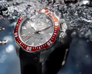 軍風設計大展海洋霸氣:Hamilton Khaki Navy Frogman漢米爾頓蛙人專業潛水腕錶
