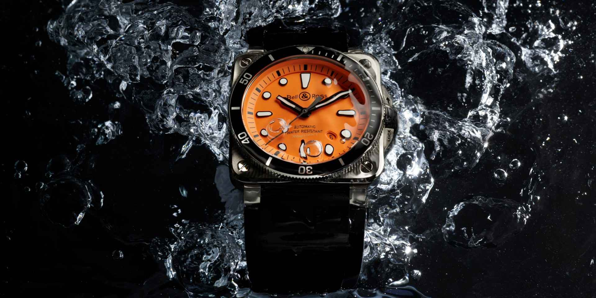 心想是「橙」:Bell & Ross BR 03-92 DIVER ORANGE 限量錶