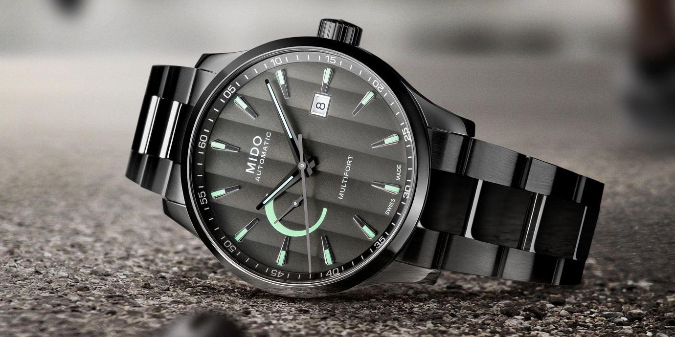 強化運動風格:Mido先鋒系列動力儲存顯示腕錶