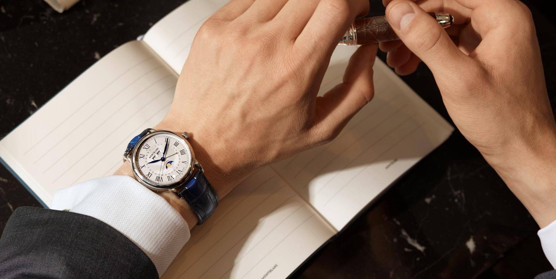 中秋賞月良伴:MONTBLANC萬寶龍經典月相腕錶團圓大集合