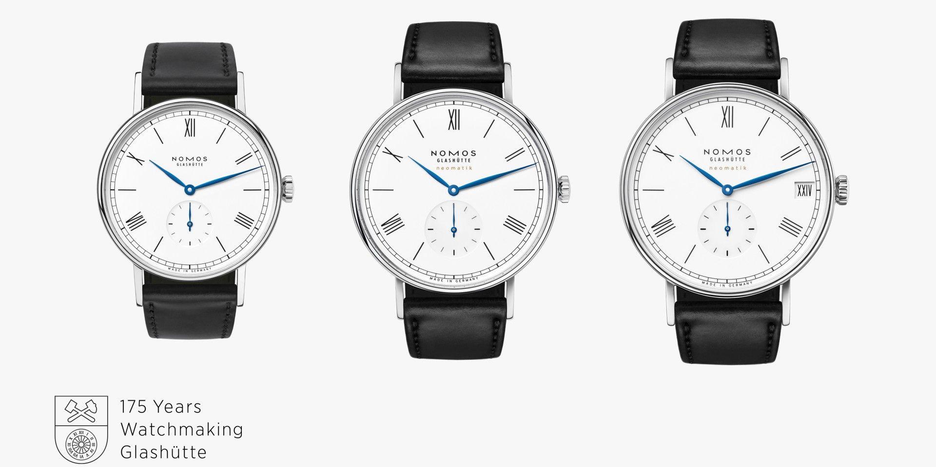【2020線上錶展】慶祝格拉蘇蒂製錶175 週年,NOMOS推出Ludwig手上鍊、Ludwig neomatik 39 和Ludwig neomatik 41 date等三款限量紀念錶