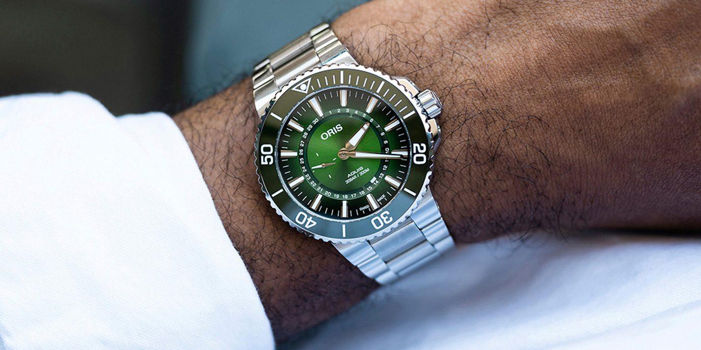 保育水資源不遺餘力:Oris Aquis漢江限量版潛水錶