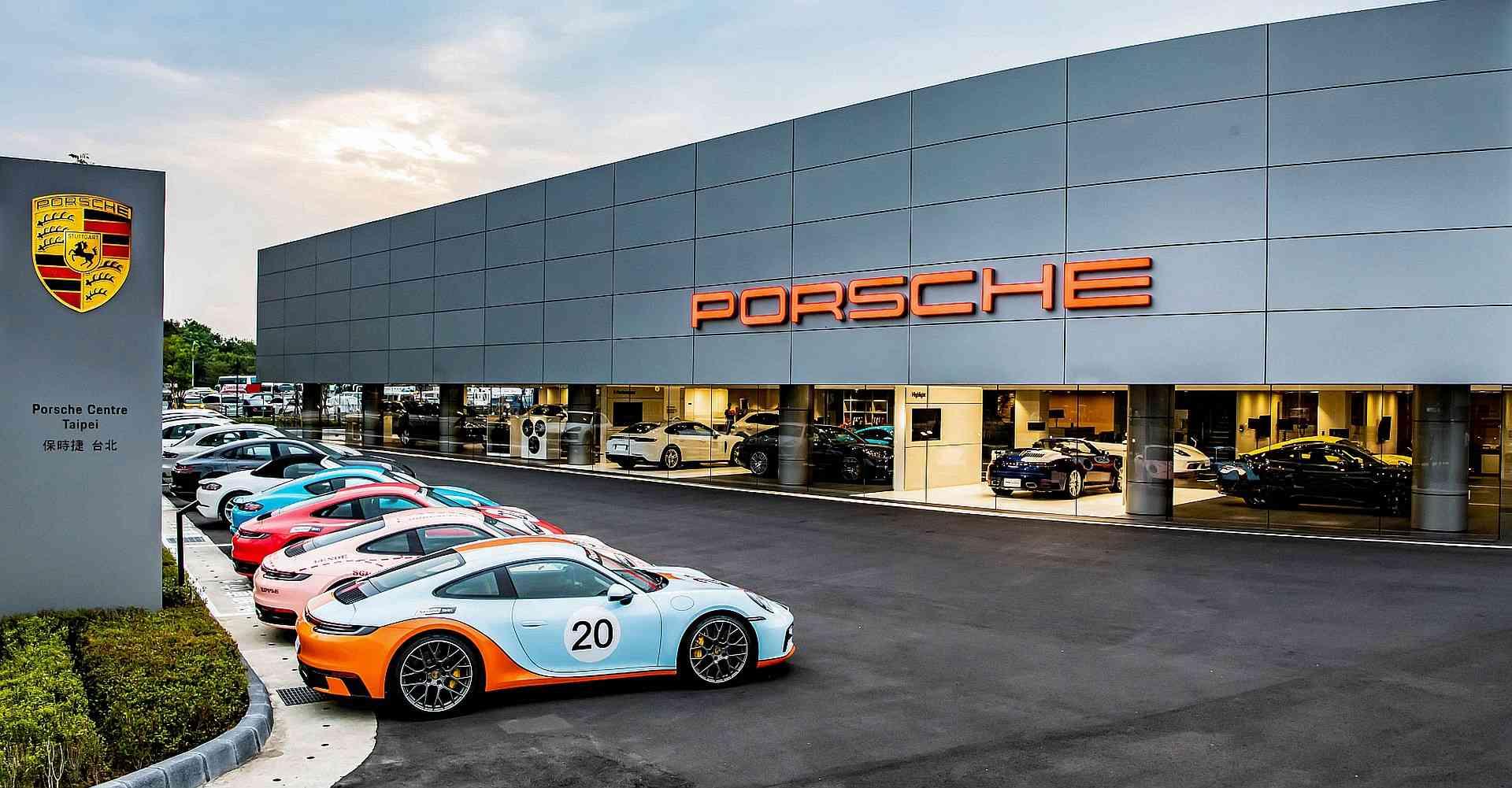 全台首座以Destination Porsche概念打造的展間—台北保時捷中心(Porsche Center Taipei)隆重開幕