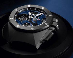 【2020線上錶展】科技材質與前衛美學新展現:愛彼皇家橡樹概念飛行陀飛輪 GMT腕錶