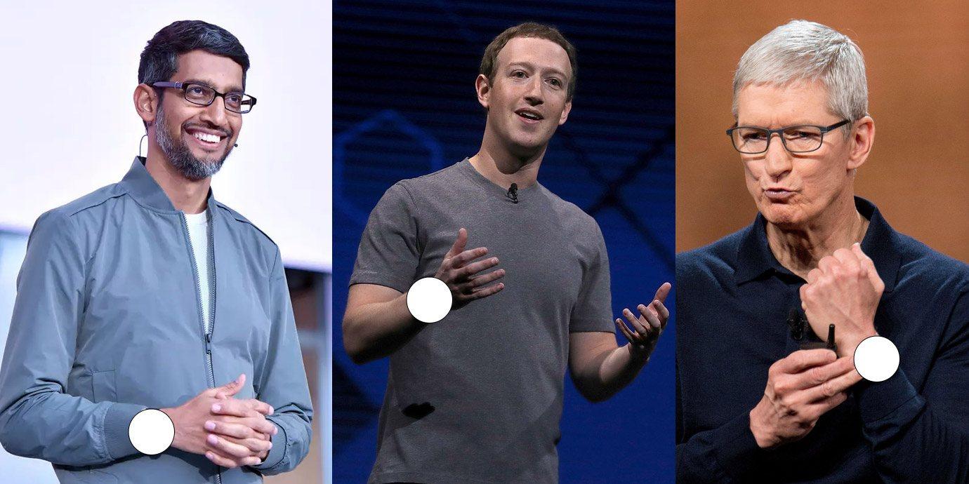 美國科技巨擘們都戴什麼錶?