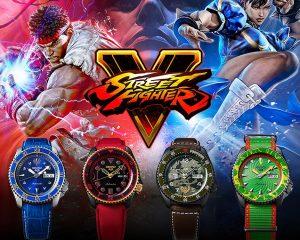 當波動拳遇上昇龍拳:Seiko 5 Sports X 《快打旋風5》限量聯名錶