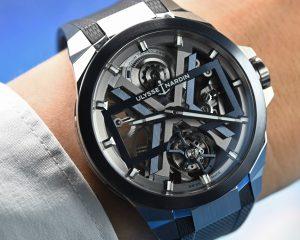 【2020線上錶展】加入隱形戰機元素:Ulysse Nardin Blast鏤空陀飛輪腕錶
