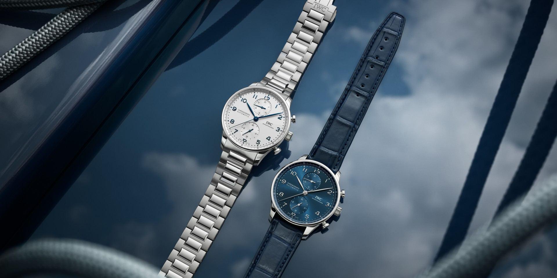 【2020線上錶展】IWC於上海Watches & Wonders展覽上推出不鏽鋼鍊帶款Portugieser葡萄牙計時腕錶